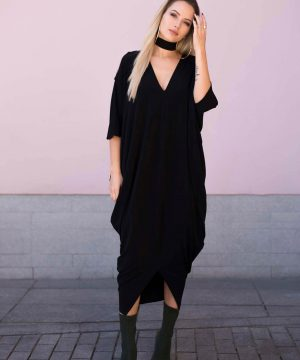 Black Oversized Dress 3