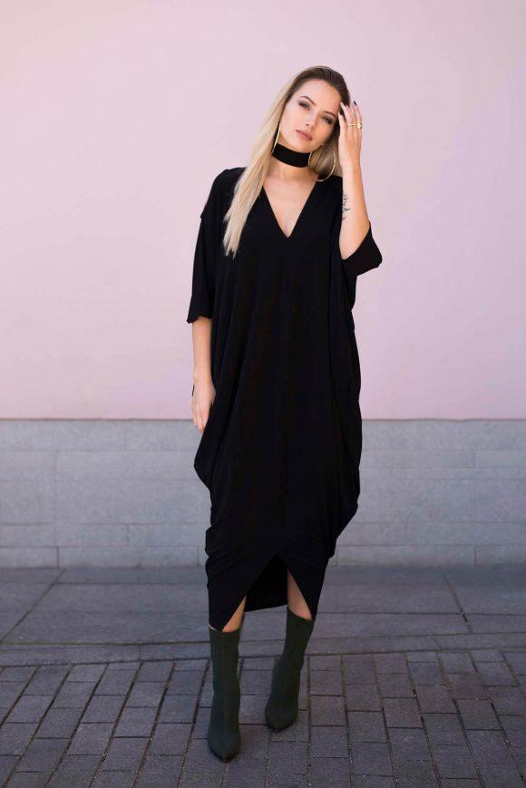 Black Oversized Dress 3