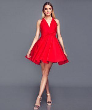 Red Multi Dress