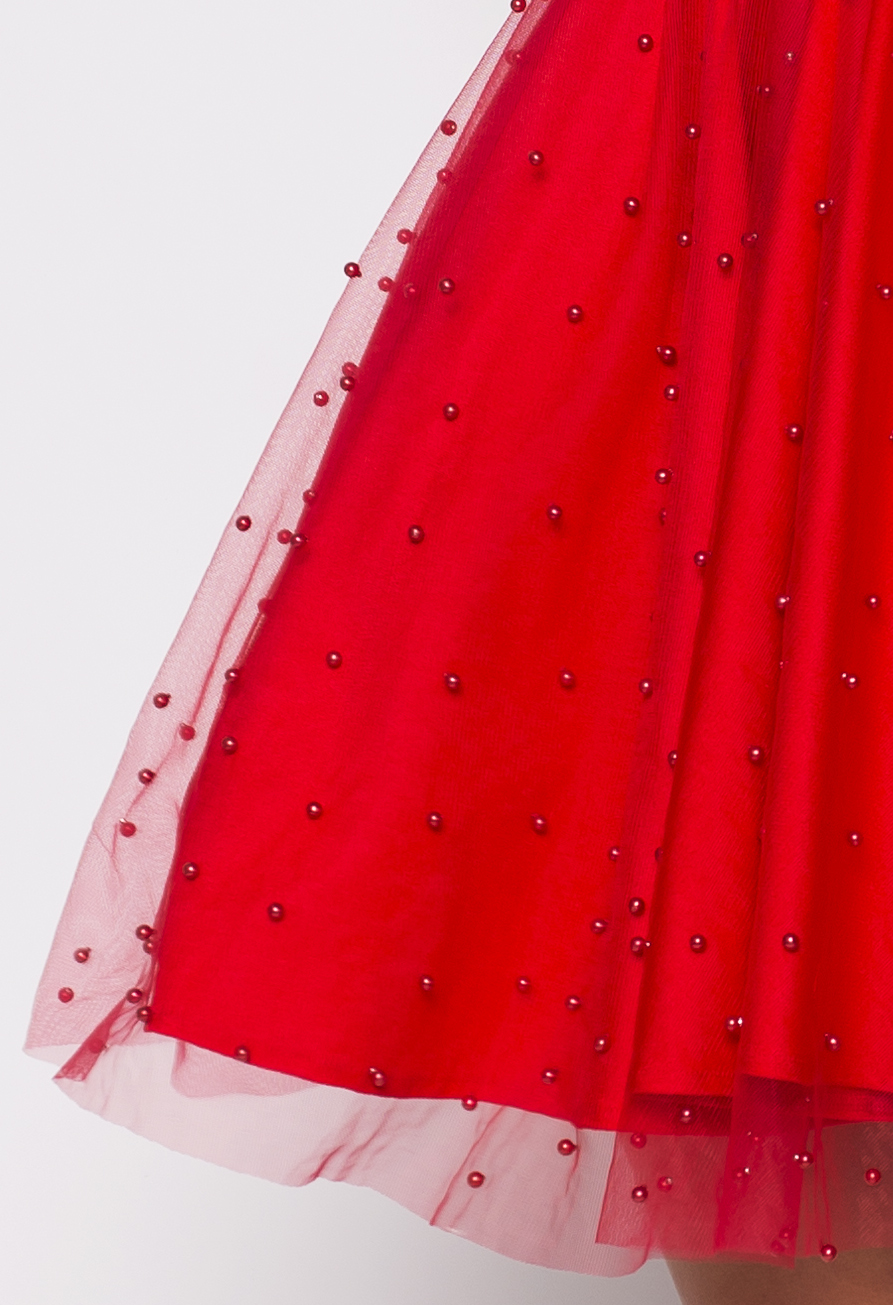 2c2eed196c3 Red Tulle Multi dress