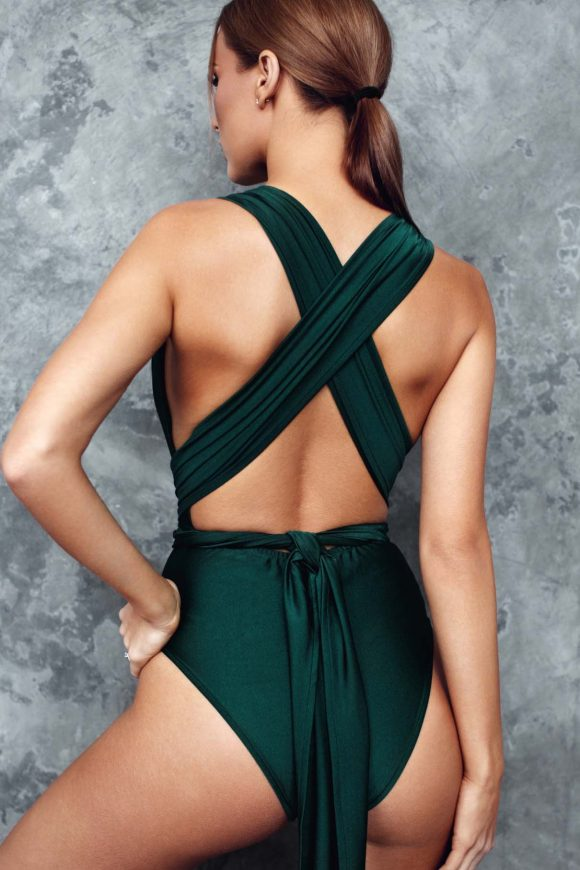 one piece swimsuit, infinity bathing suit, convertible swimsuit