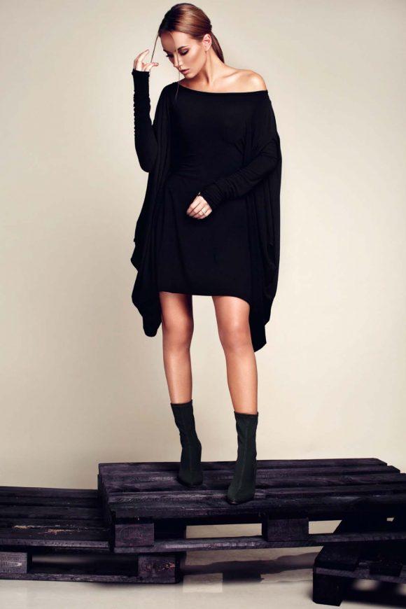 Long sleeved dress, convertible dress