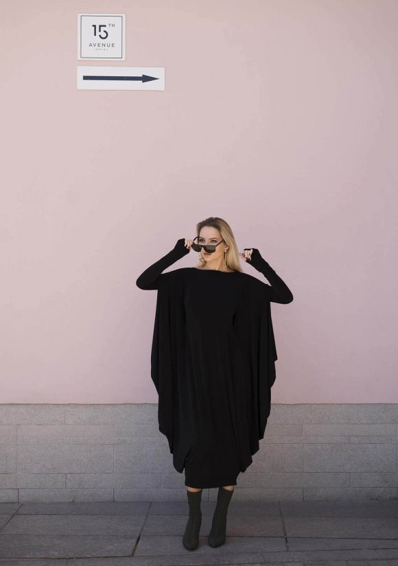Black Convertible Dress 4