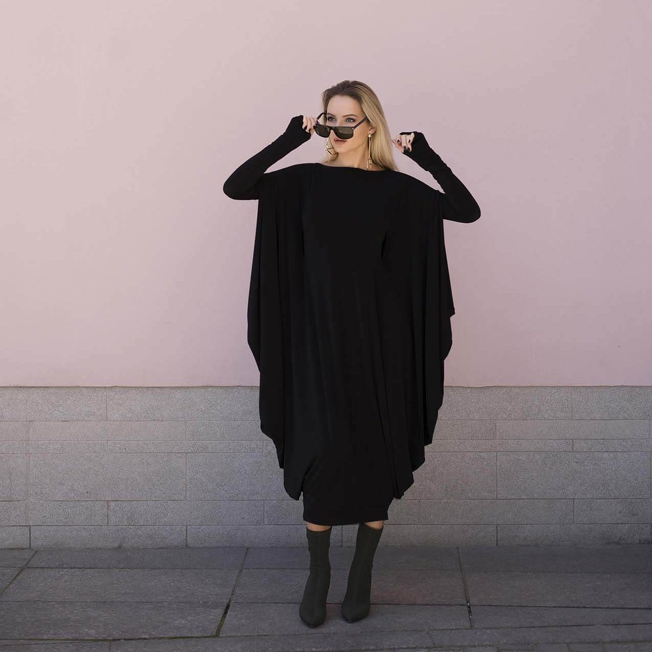 Black Convertible Dress Blair
