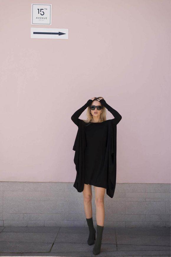 Black Convertible Dress 5
