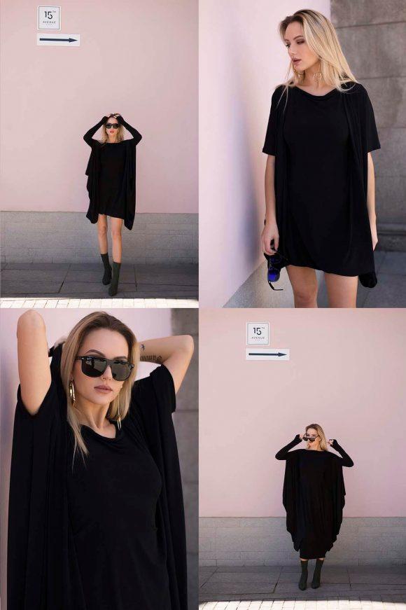 Black Convertible Dress 6