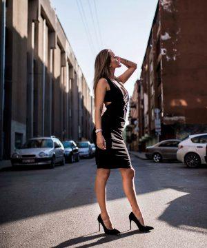 Black Pencil Dress, Mutiway Pencil Dress