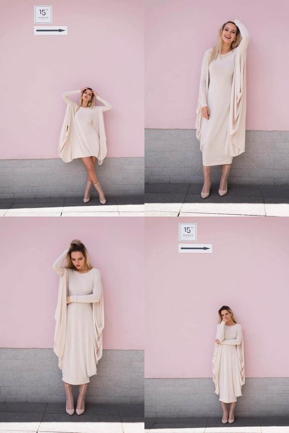 Creme Convertible Dress