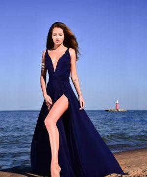 dark blue dress, naive dress, multi dress, infinity dress, convertible dress, homecoming dress, cocktail dress