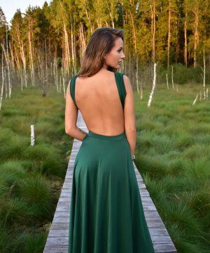 emerald color dress,emerald dress, multi dress, infinity dress, convertible dress, homecoming dress, cocktail dress