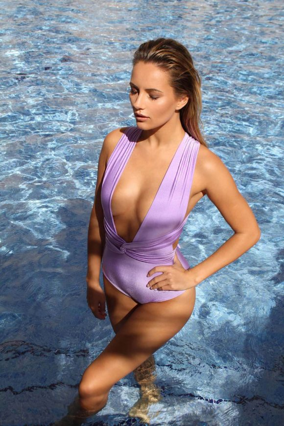 Lilac Multiway Swimsuit