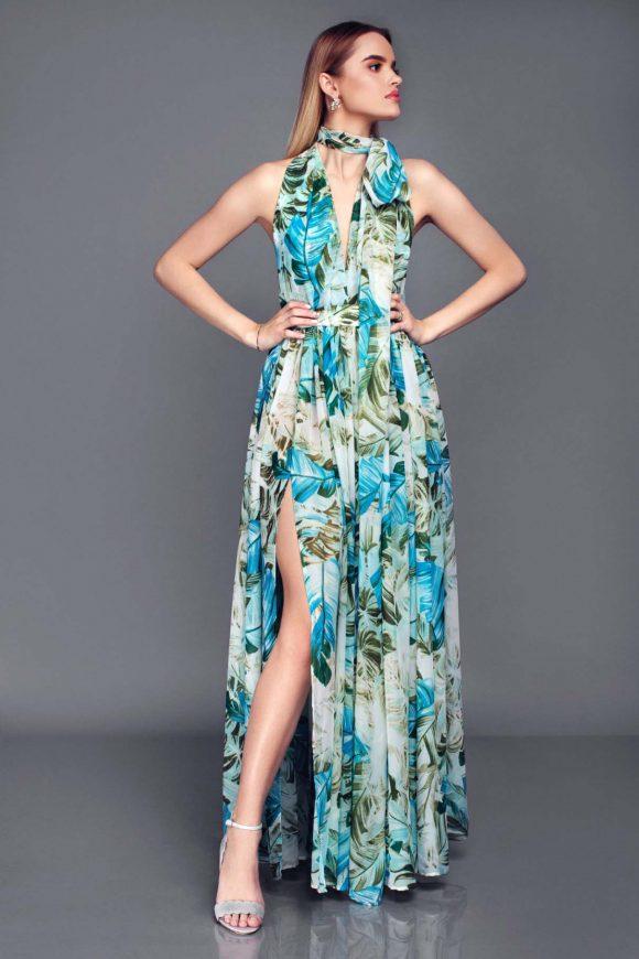Floor length dress, bridesmaids dress, infinity dress
