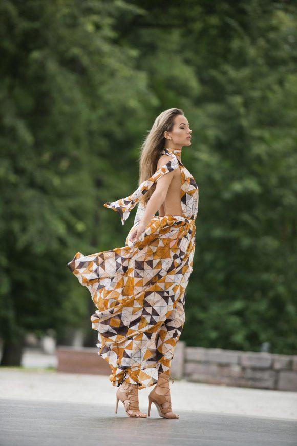 Chiffon Dress, Convertible Dress, Infinity Dress