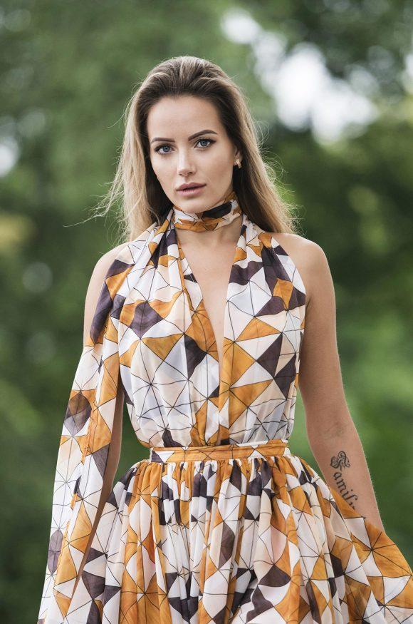 Chiffon Dress, Multi Dress, Infinity Dress