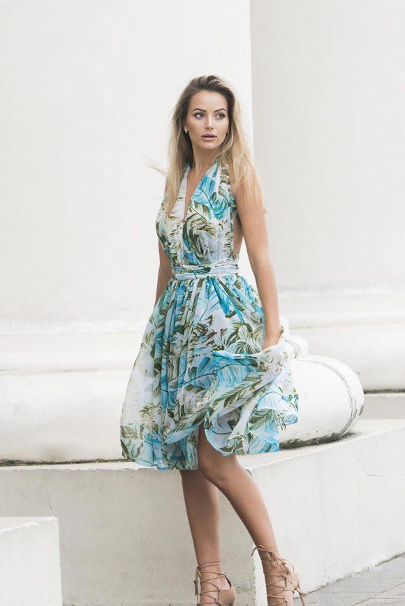 Convertible Dress, Infinity Dress, Chiffon Dress
