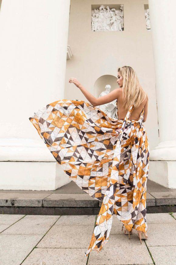Multi Dress, Chiffon Dress, Convertible Dress