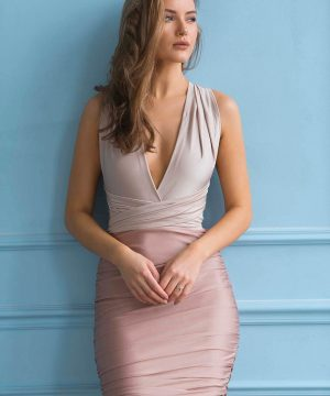 Pencil Dress, Multi Dress, Convertible Pencil Dress