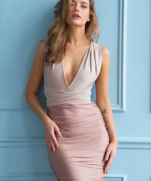 Pencil Dress, Multiway Dress, Infinity Pencil Dress