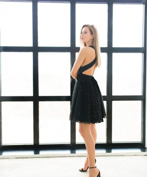 Sequin Tulle Dress