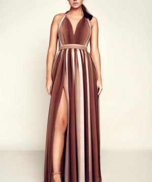 Wedding guest dress, infinity dress, multiway dress