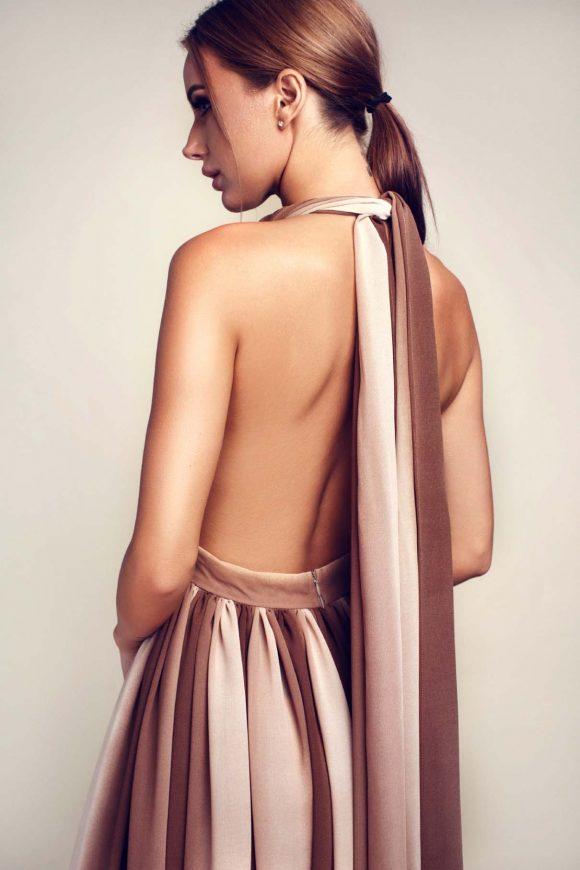 Multiway dress, infinity dress, graduation dress