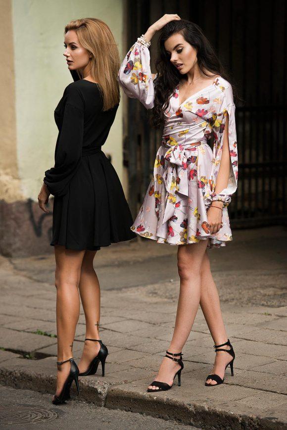 Convertible Dress, wrap-over dress
