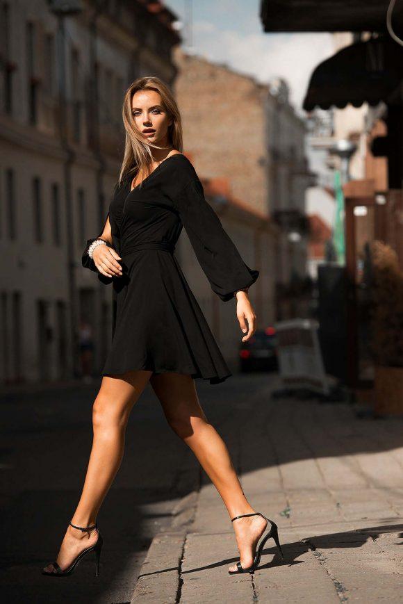 Short Dress, Black Dress