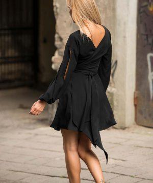 Short Dress, Elegant Black Dress