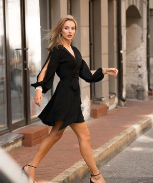 Short Dress, Mini Black Dress