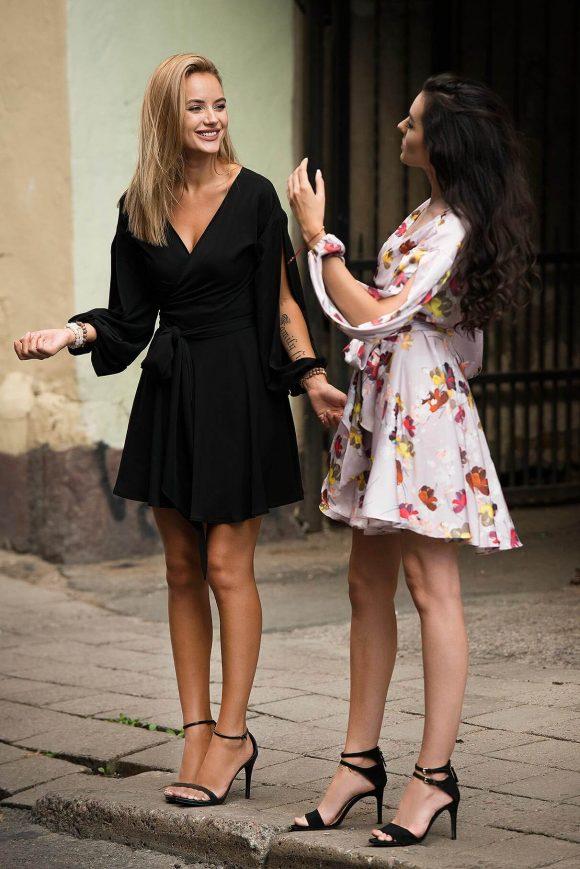 Convertible Little Dress, wrap-over dress