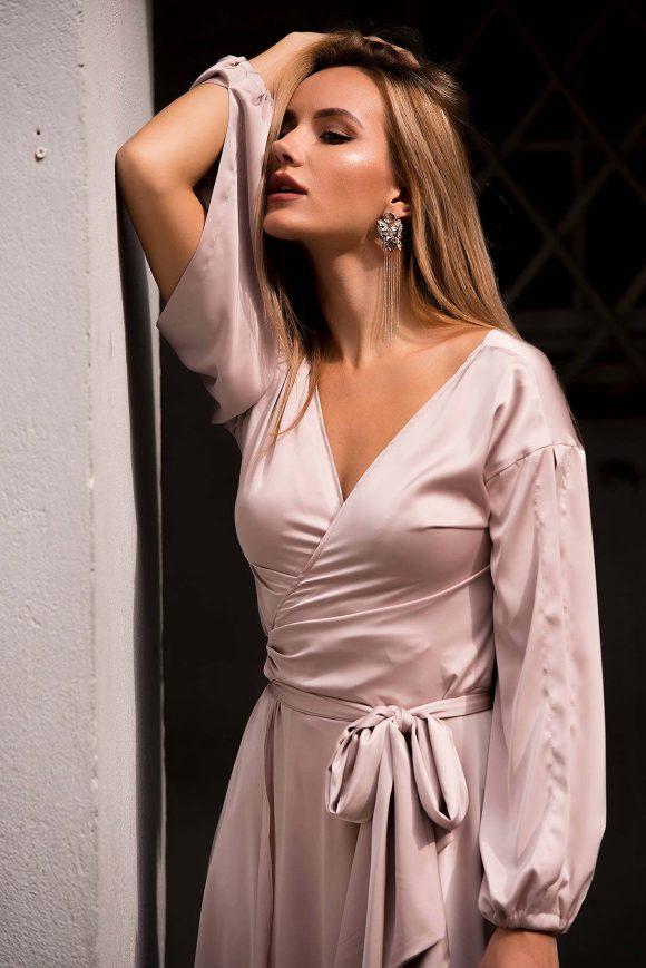 Mid Length Convertible Dress