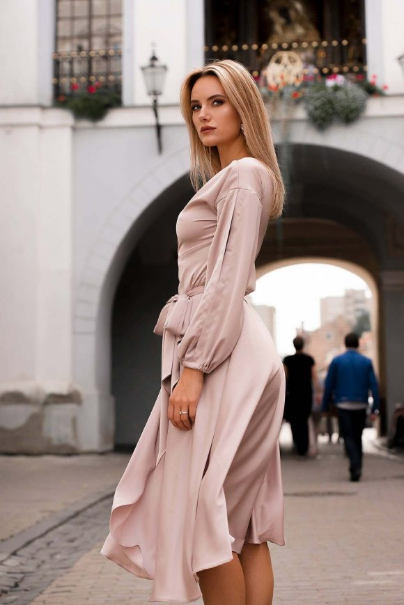 Mid Length Dress, Elegant Dress