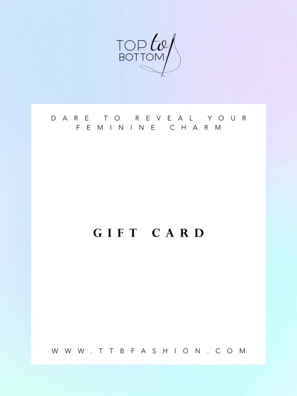 Top Gift Card