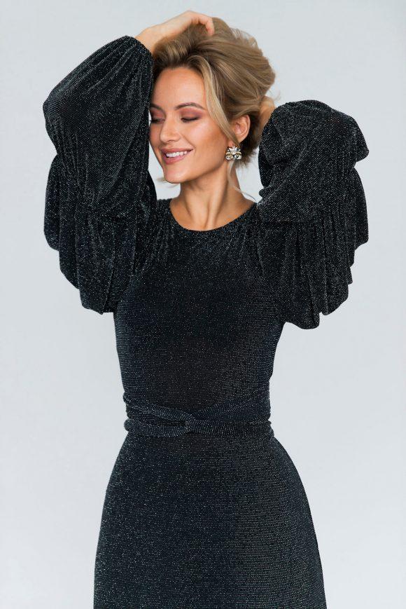 Cocktail dress, convertible dress, wrap-over dress