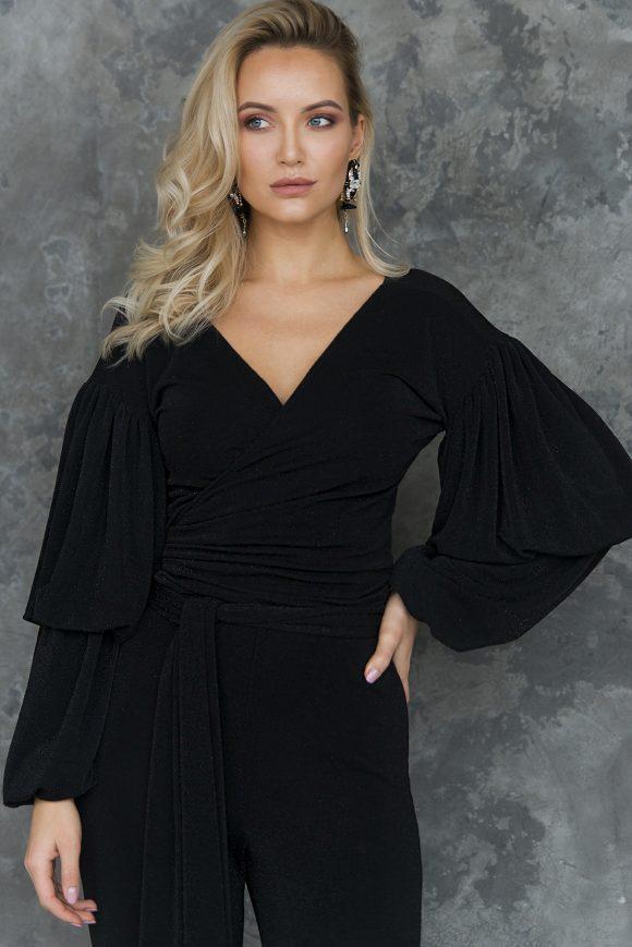 wrap-over blouse, convertible blouse