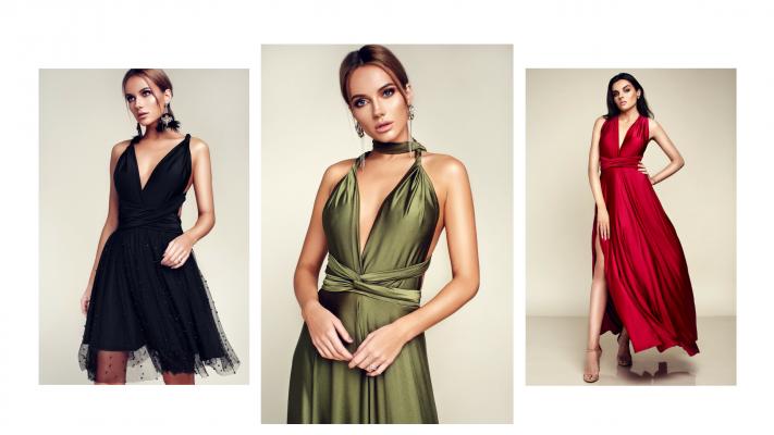 Multiway dress, infinity dress