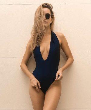 Dark Blue Swimsuit