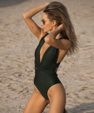 Emerald Color Bathing Suit