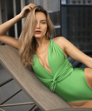 Green Swimsuit