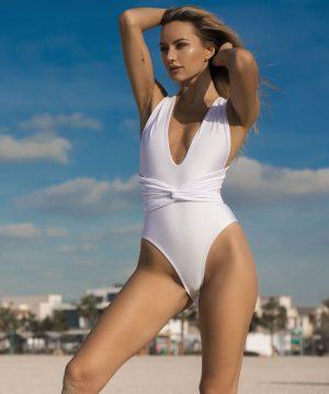Infinity White Swimsuit