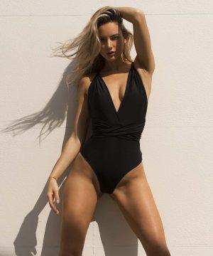 Sexy Black Beachwear