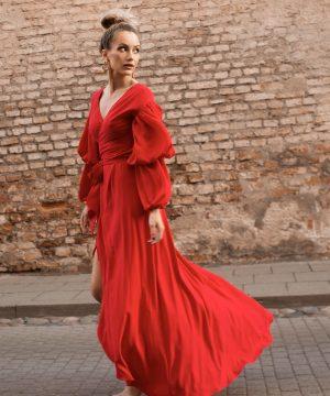 Wrap Dress Red Dress Nice
