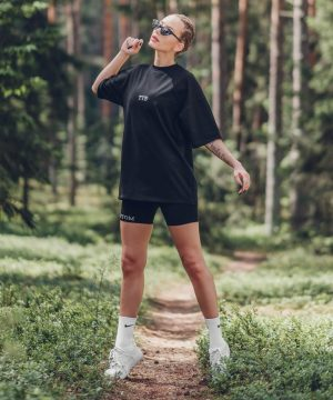 Cycling Shorts For Women Black Top To Bottom