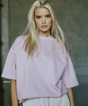 Baby Pink Tshirt For Women Top To Bottom