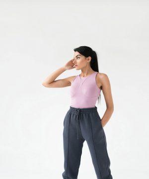 Pink Bodysuit For Women Top To Bottom