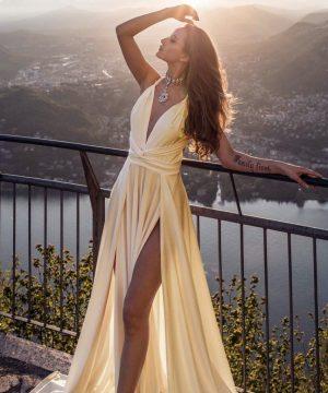 Long Dress For Women Top To Bottom