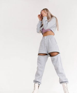 Grey Loungewear For Women Top To Bottom