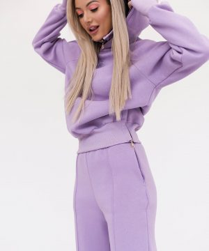 Oversized Jumper For Women Purple Top To Bottom