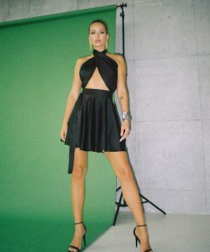 Evening Dress For Women Black Top To Bottom