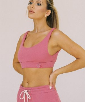 Pink Sports Bra Ttbfashion